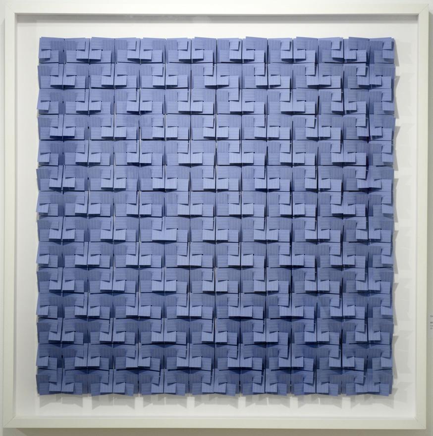Striped Blue Series No. 2