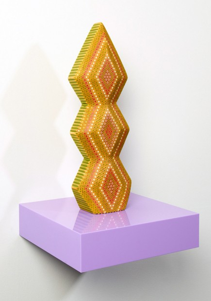 Coloured Staedtler Pencil Sculptures made by Lionel Bawden    - @ricardo_dwd