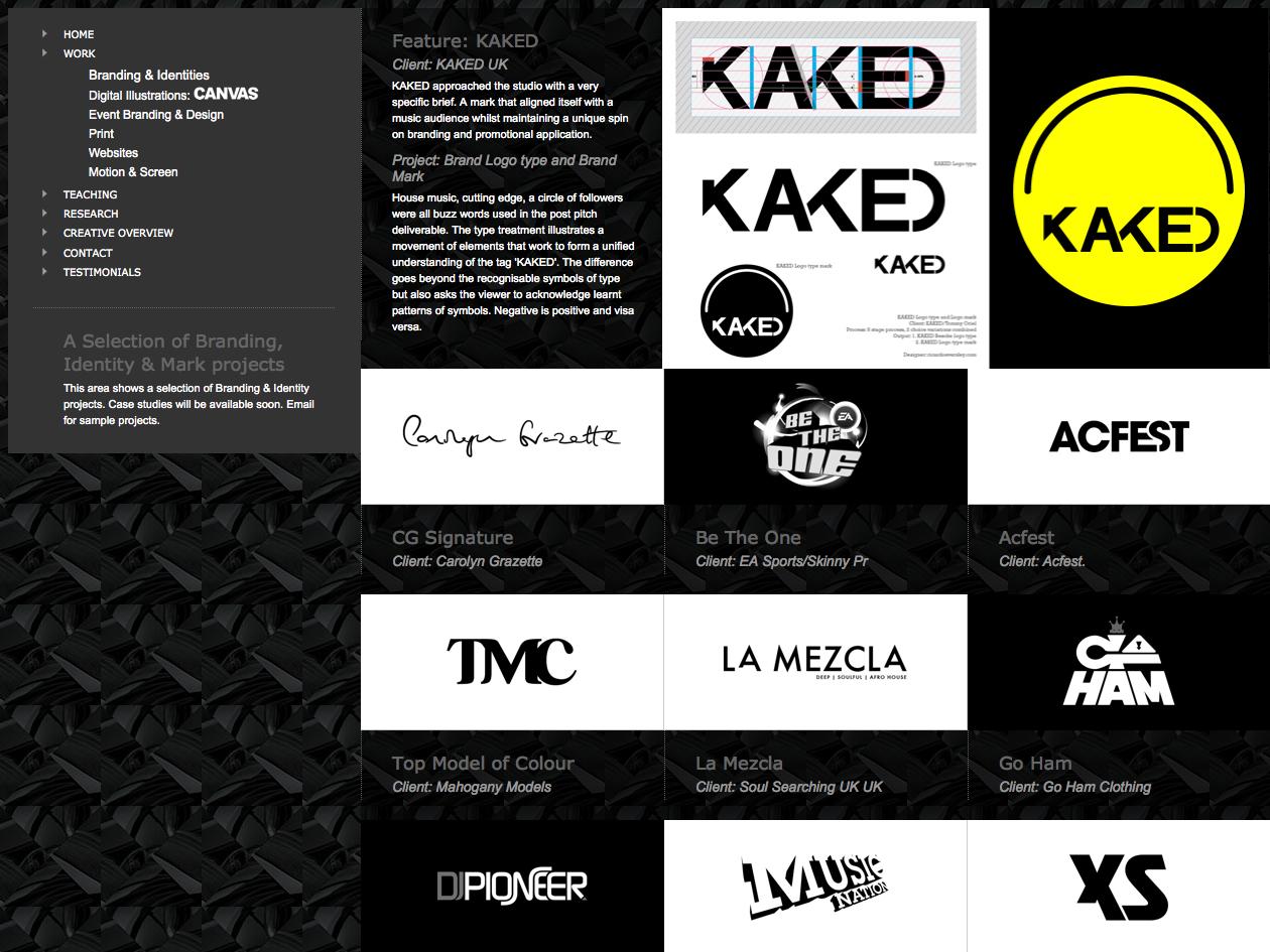 Branding: Updated   Source:  www.ricardoeversley.com