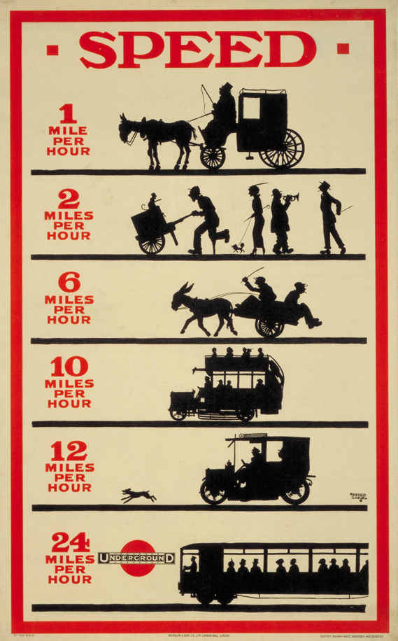 Infographic from the London Transport Museum - Painting by Numbers Exhibition   Image source - London Transport Museum
