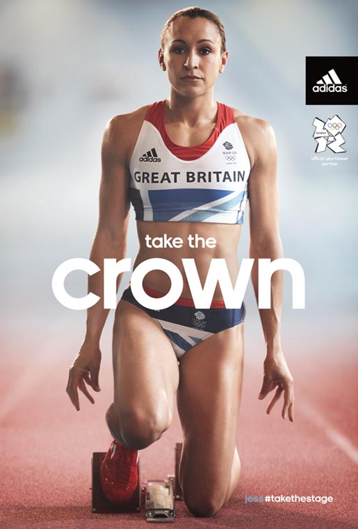 Total domination from Jessica Ennis. Amazing #TeamGB #Takethecrown #Olympics