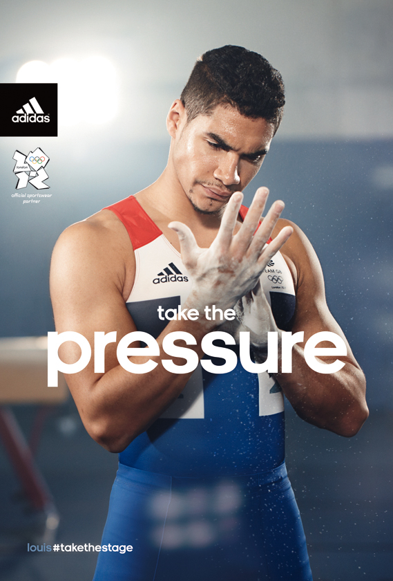 It seems Adidas got this creative image just right. Team GB gymnasts win bronze in the Men's team final.