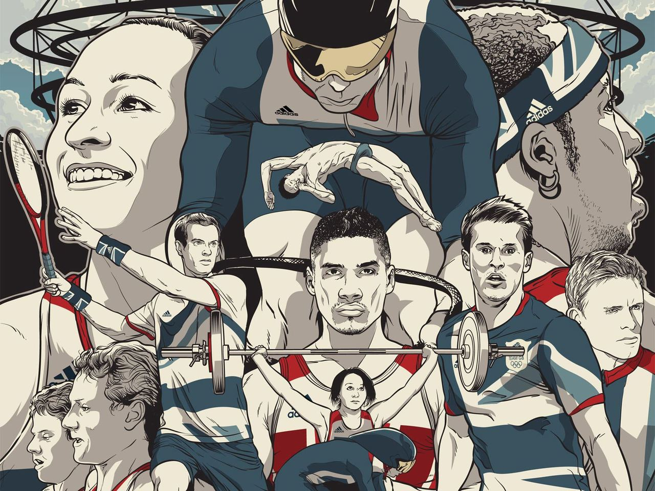 London 2012, It's finally here. Image: Adidas Take the stage campaign