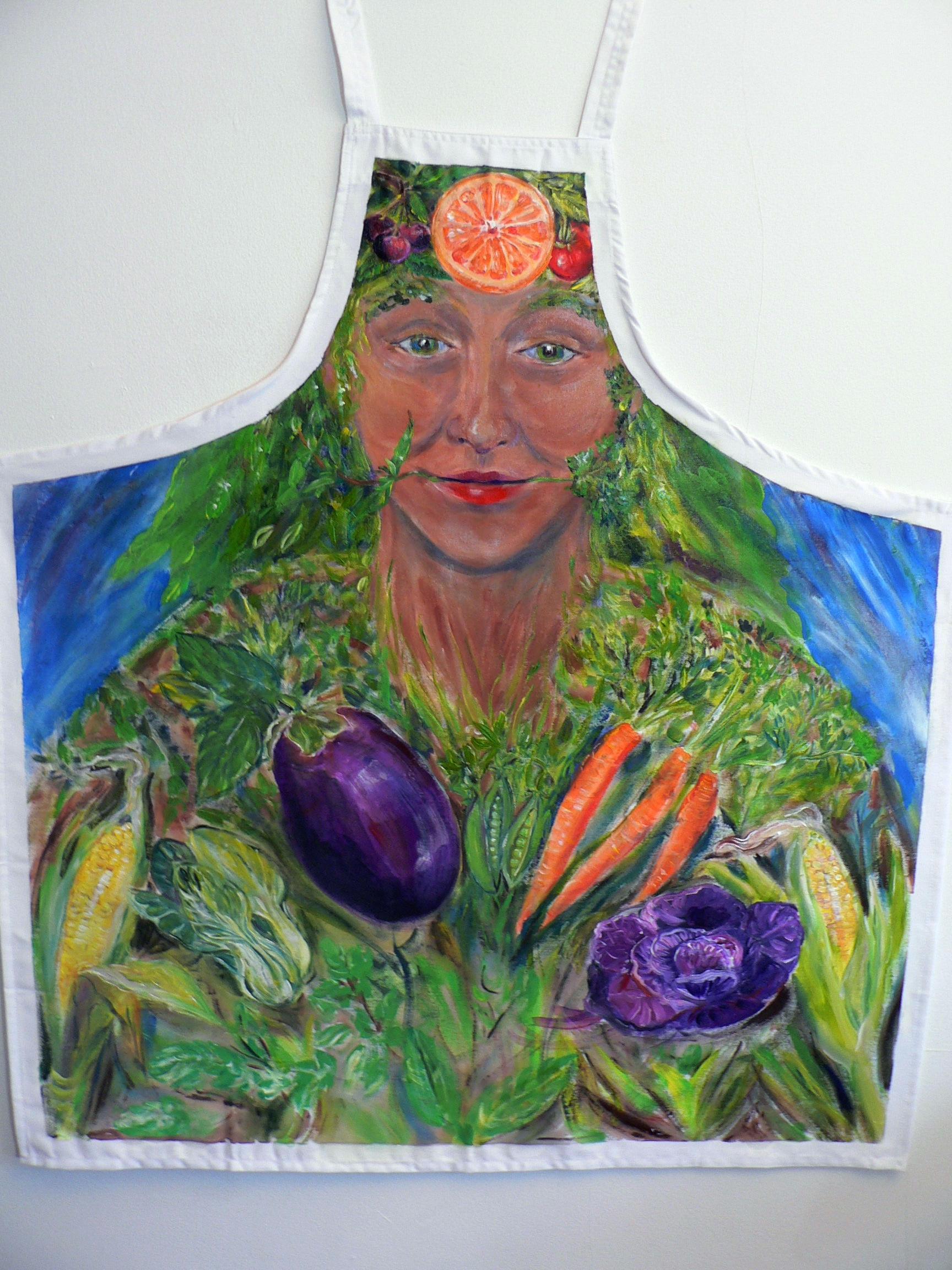 Kitchen Goddess Apron
