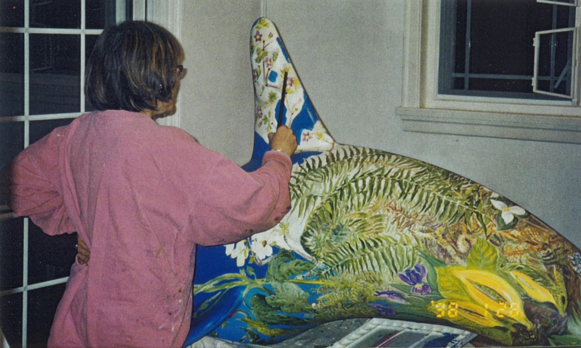 Painting Flora