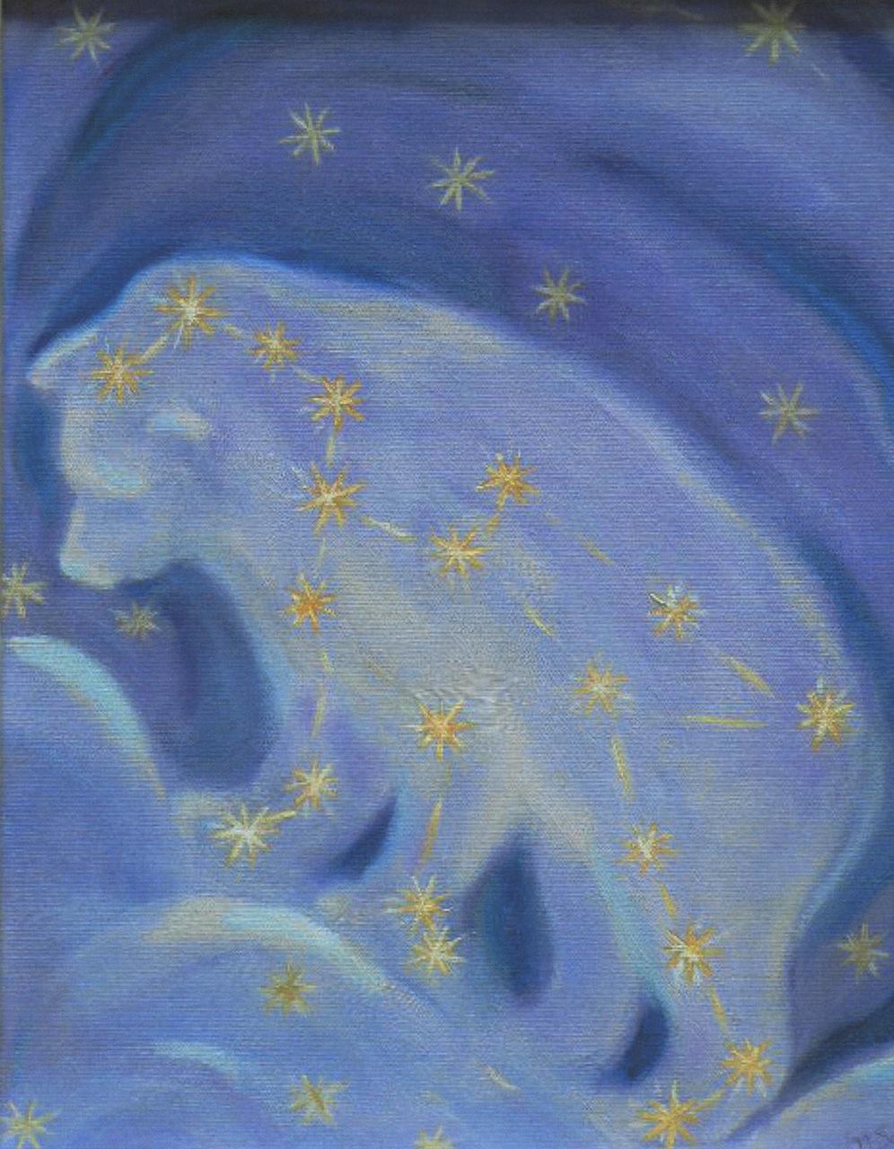 Spirit Bear Climbs the Clouds