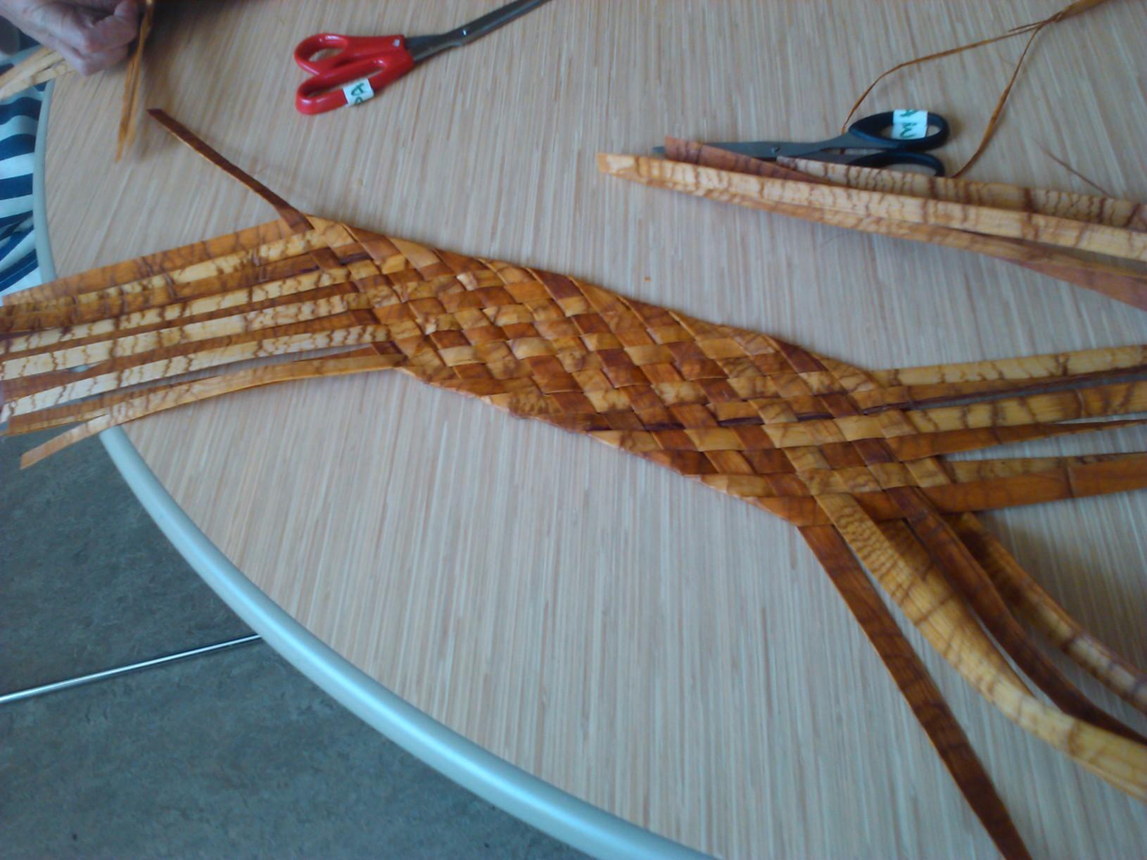 Cedar Weaving