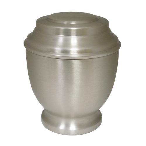 Spun Pewter Urn $125.00