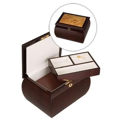 Mahogany Burl Treasure $395.00