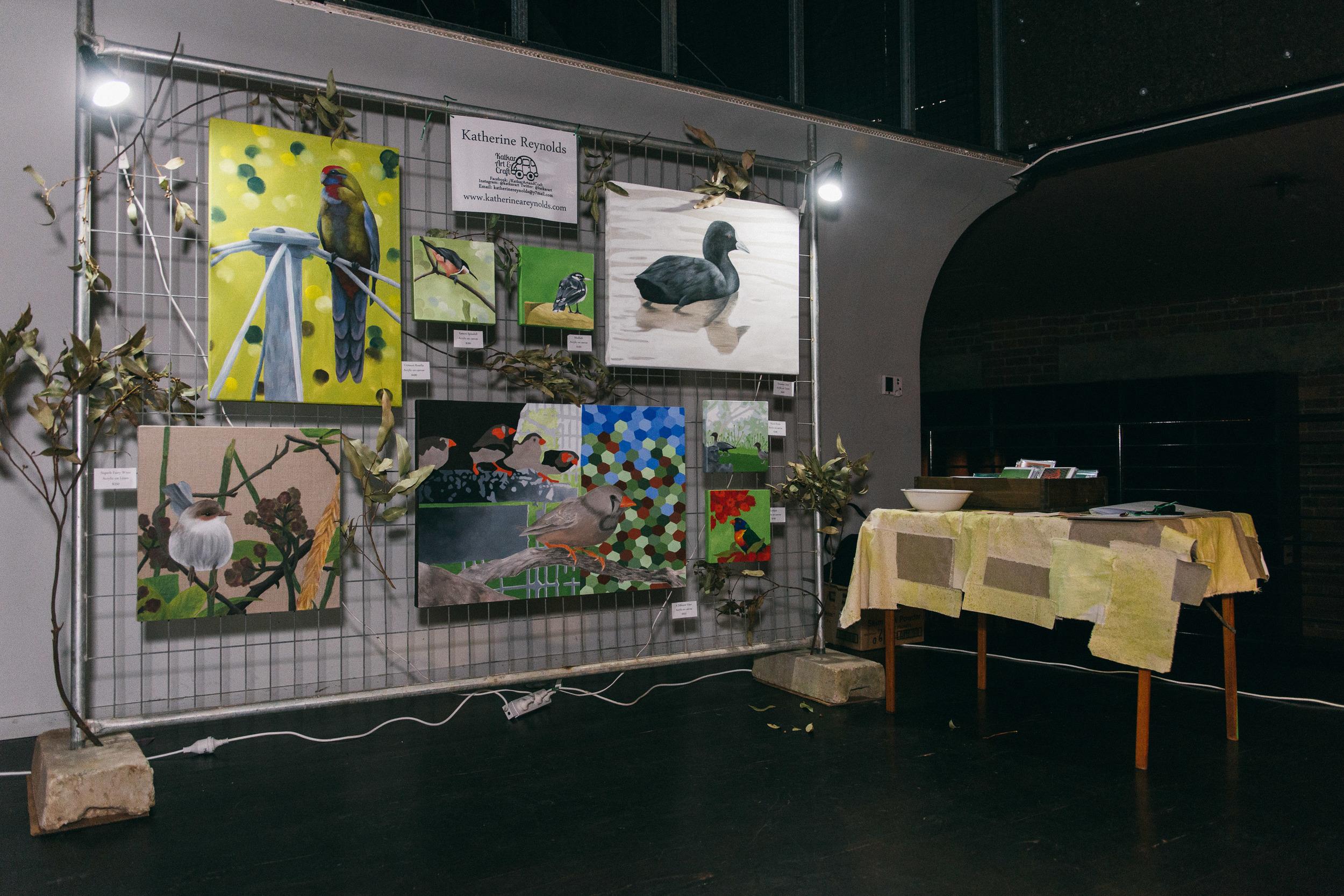 RAW Showcase display