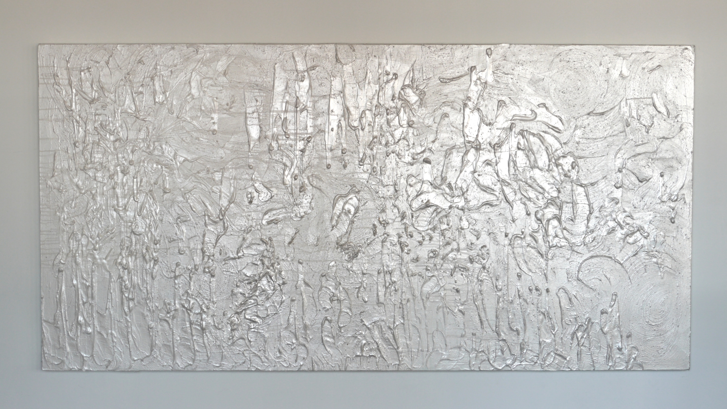"""Title : """"Soul Landscape I"""" 2015   Size : 4' by 8'   Price : $ 9,600.00   IN : MO_013"""