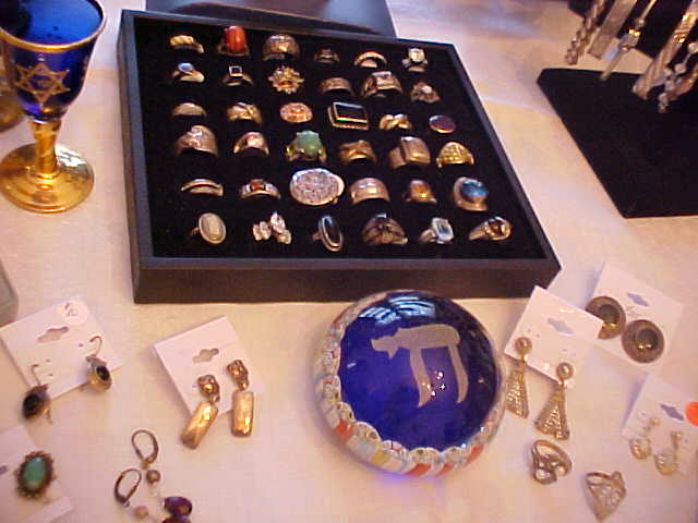Husser's Estate Jewelry - Vintage & Antique Jewelry - Rings, Bracelets, Necklaces, Charms, and Earrings. Also Miscellaneous Judaica.