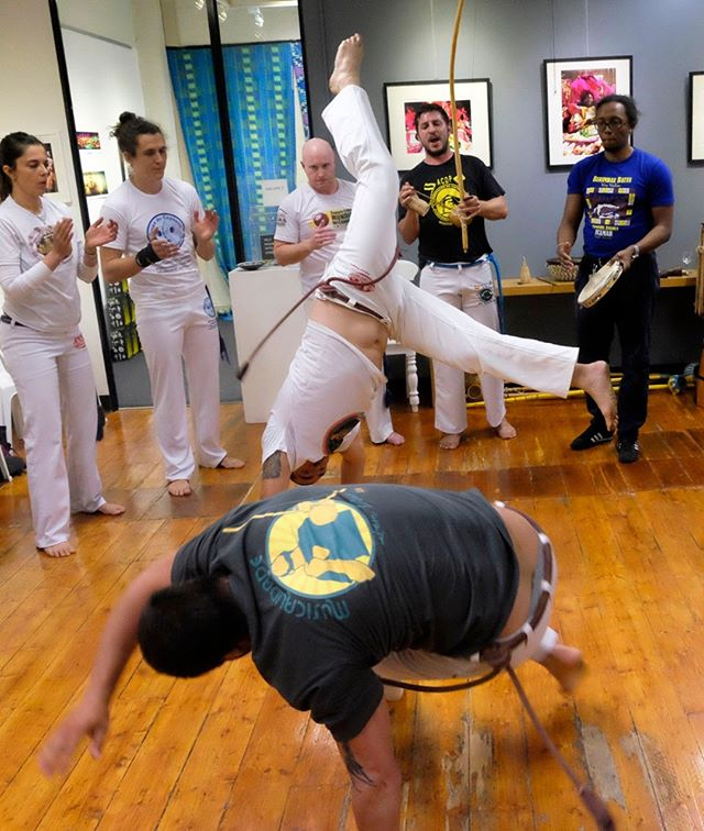"An in introduction to  RODA DE CAPOEIRA at MAGNET ! An exciting mix of Brazilian samba and martial arts, CAPOEIRA is exhilarating fun to watch! Amazing agile movements, half-dance, half-sport – all to the irresistible beat of Samba! ""Roda"" means a circle, or gathering – so come and gather at @magnetgalleries this Sunday 11 August for an afternoon of music and movement performed by  CAPOEIRA COLLECTIVE MELBOURNE –  and the Brazilians (who know how to party!) Time : Sunday 11th August 1.30-4pm Place : MAGNET GALLERIES SC G19 Wharf Street Entry : free – a donation to the gallery will be very welcome!  Refreshments by donation too!  #photography #magnetgalleriesmelbourne #melbourne #photonetfineartprinting #photo #gallery #art #dance #samba #capoeira #brazil #music  #thedistrictdocklands #thedocklands #docklands"