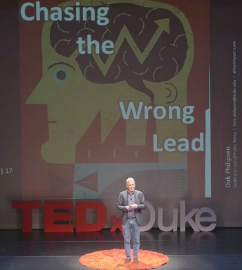 "Dirk Philipsen at TEDx, ""Chasing the Wrong Lead"""