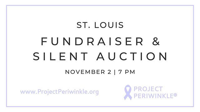 Attention St. Louis!! Join us November 2nd for a silent auction and fundraiser at iTap in the CWE and help our mission of funding cancer research programs for a cure continue!  All proceeds will go toward our mission, and as a 100% volunteer based nonprofit, every dollar goes further!  Visit our website to RSVP! . . . #cancerresearch #saintlouis #stl #fundraiser #silentauction #events #charity #projectperiwinkle #stomachcancerawareness