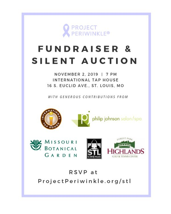 We are excited to announce some of our silent auction item sponsors!  Items have been donated by generous St. Louis business as well as more from individual donors. More to be announced as we get closer to our event!  RSVP if you haven't already, and join us for this special and fun night!