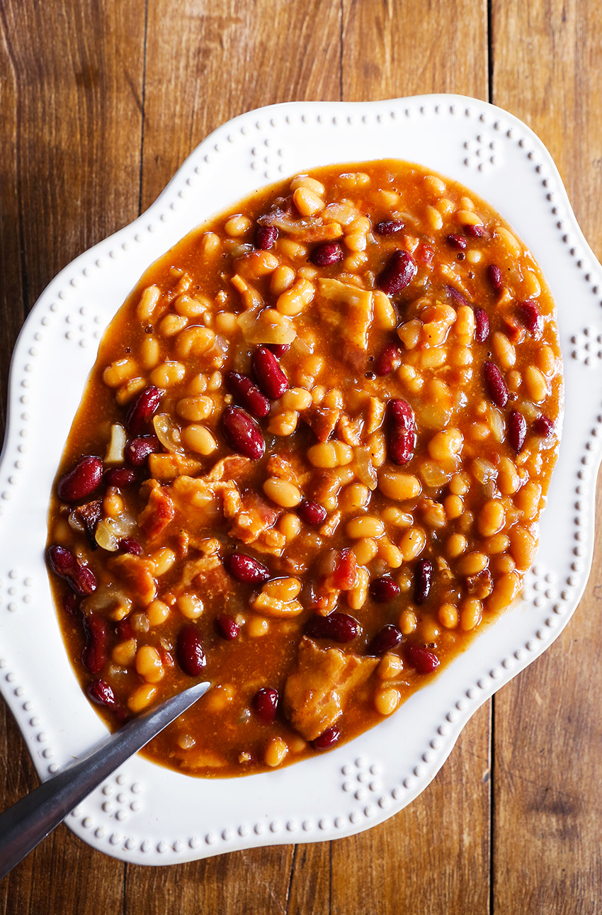 Slow Baked Beans