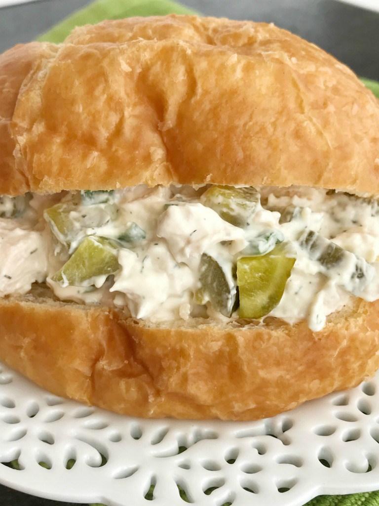 Dill-pickle-chicken-salad