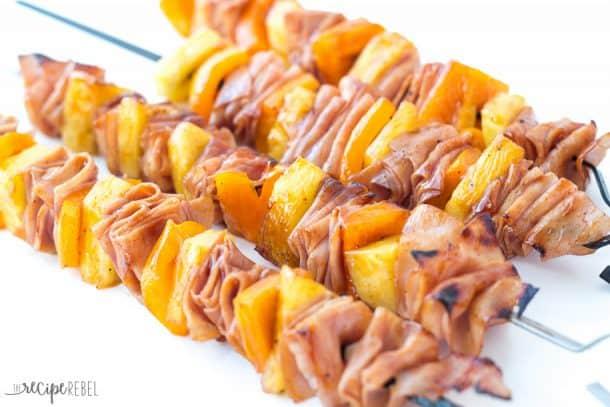 Ham-and-Pineapple-Skewers