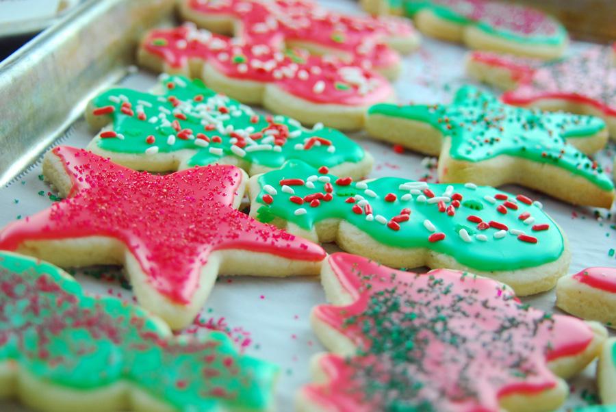 Soft Cut Out Sugar Cookies