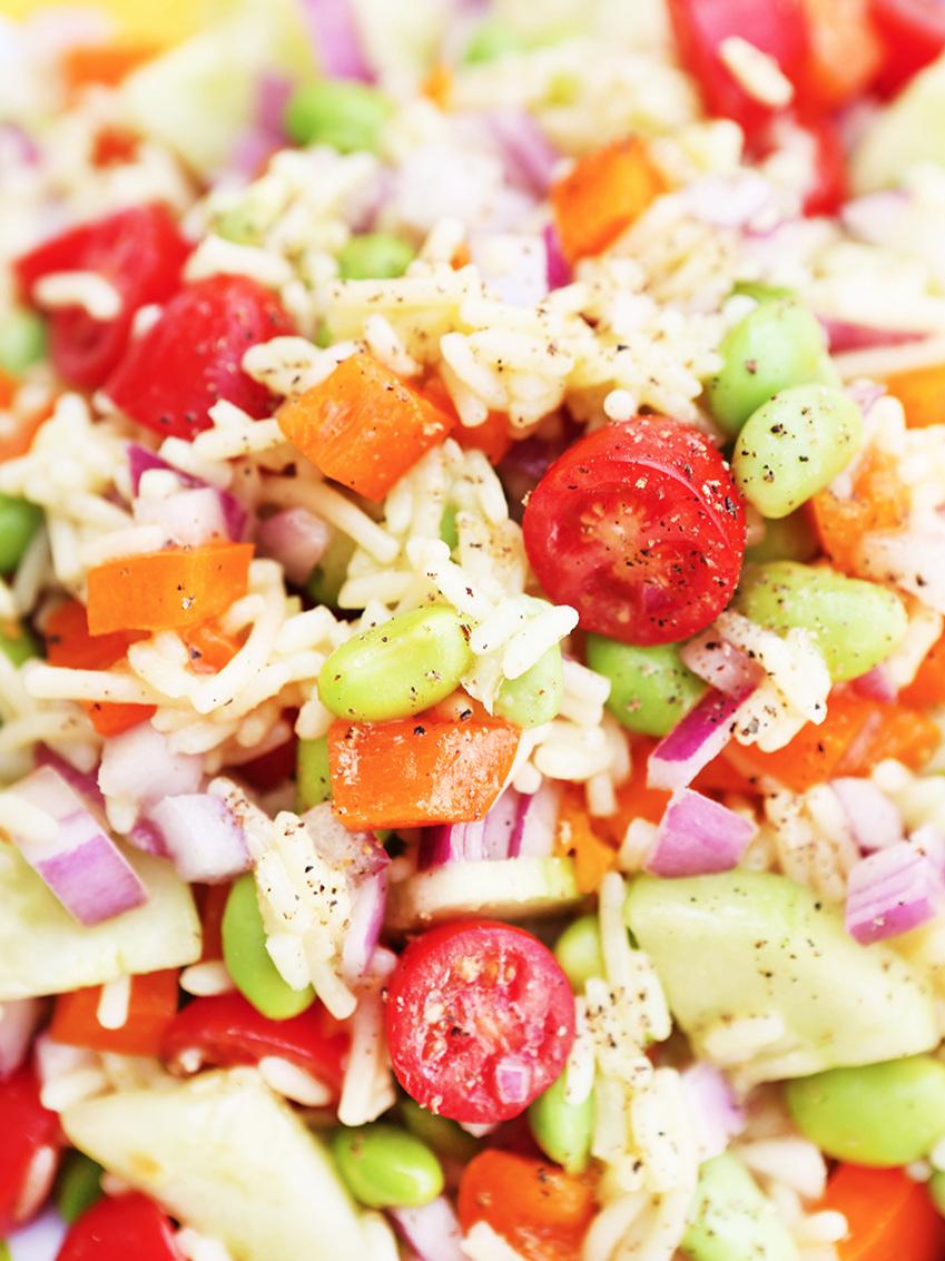 Vegetable Rice Salad