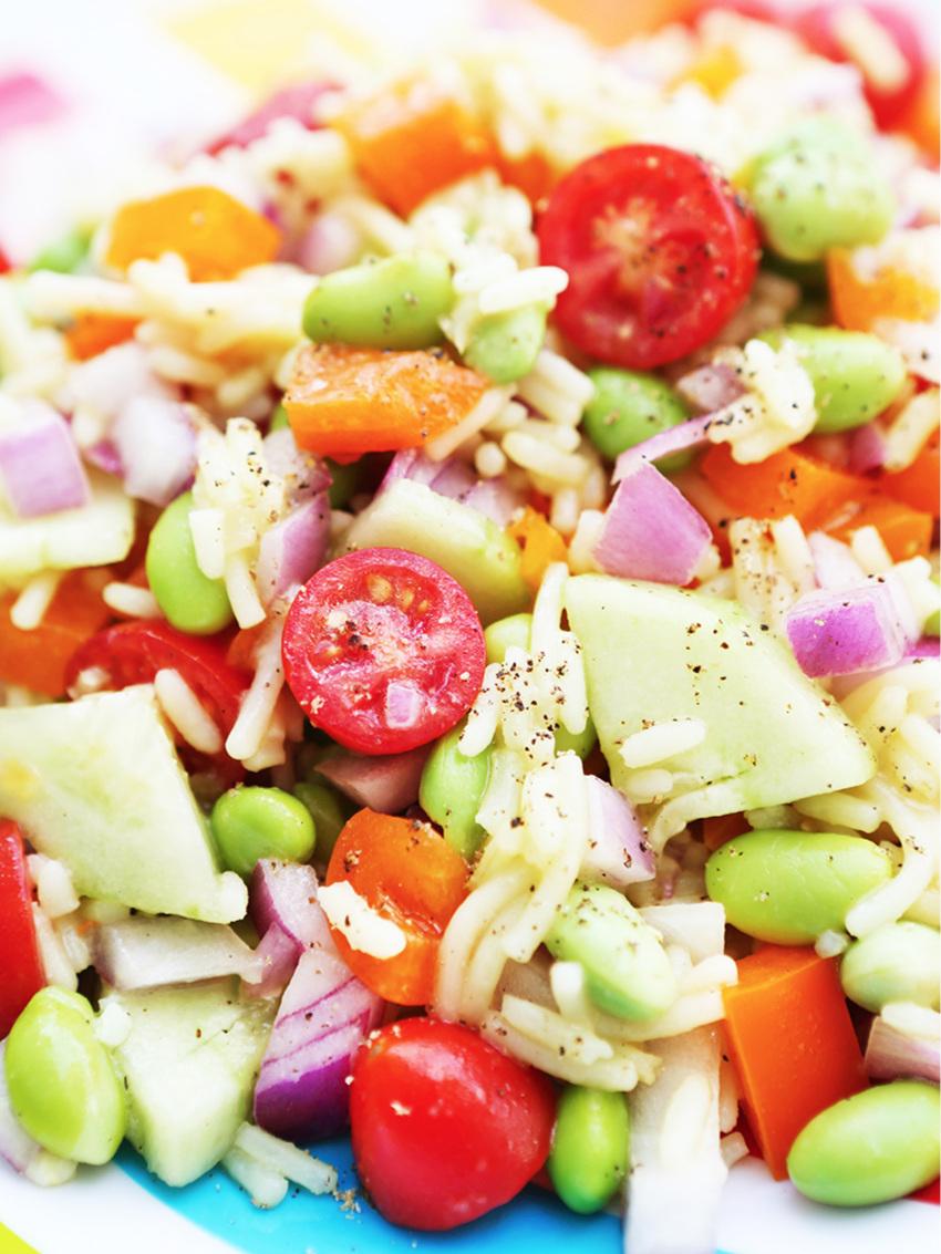 Best Vegetable Rice Salad Recipe
