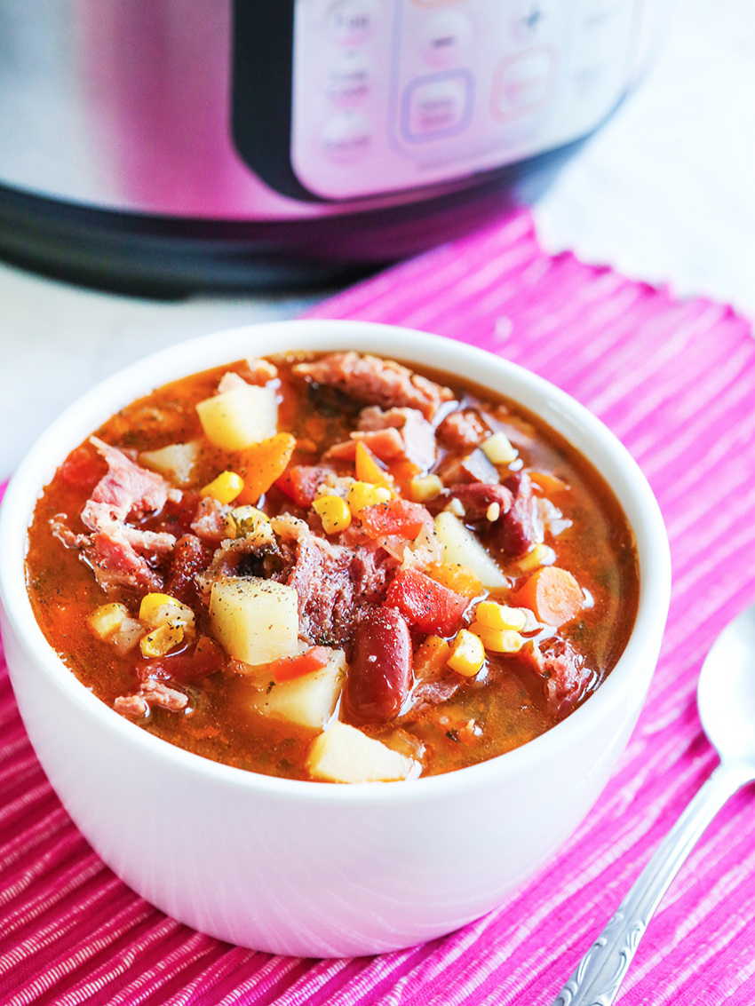 Leftover Ham Bone Soup Recipe