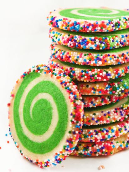 Spiral Sugar Cookies Recipe