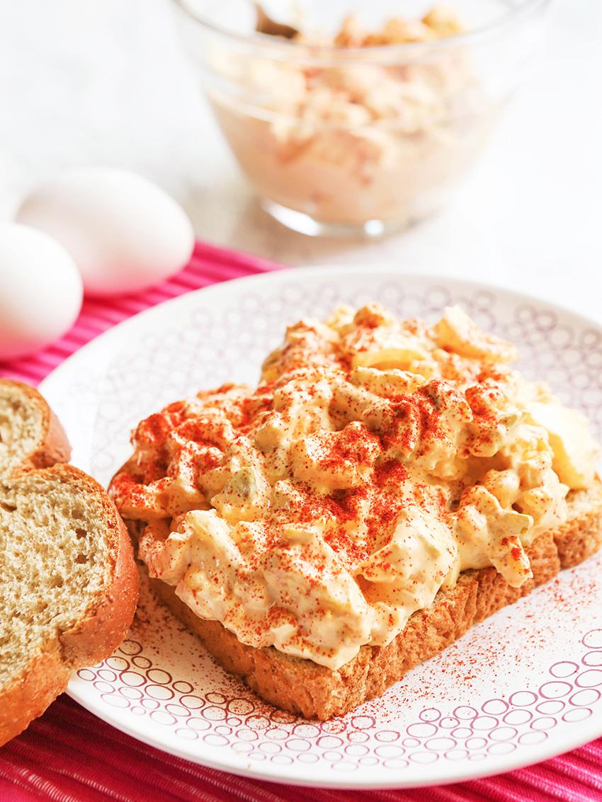 Easy Egg Salad Sandwiches