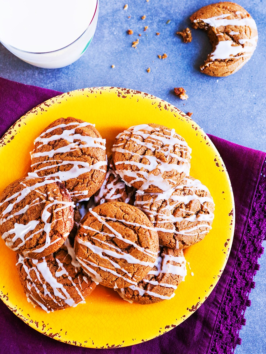 Chewy+Gingersnaps+Cookies