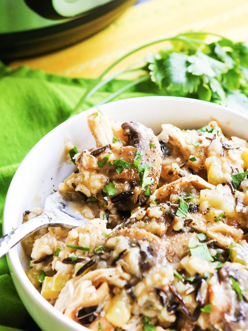 Instant Pot Chicken Rice