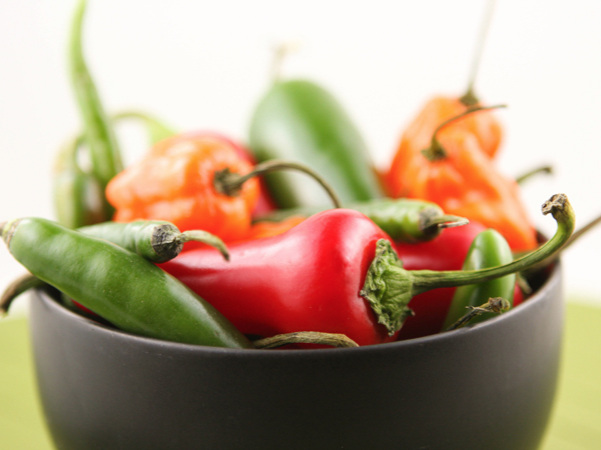 chili peppers for chili paste