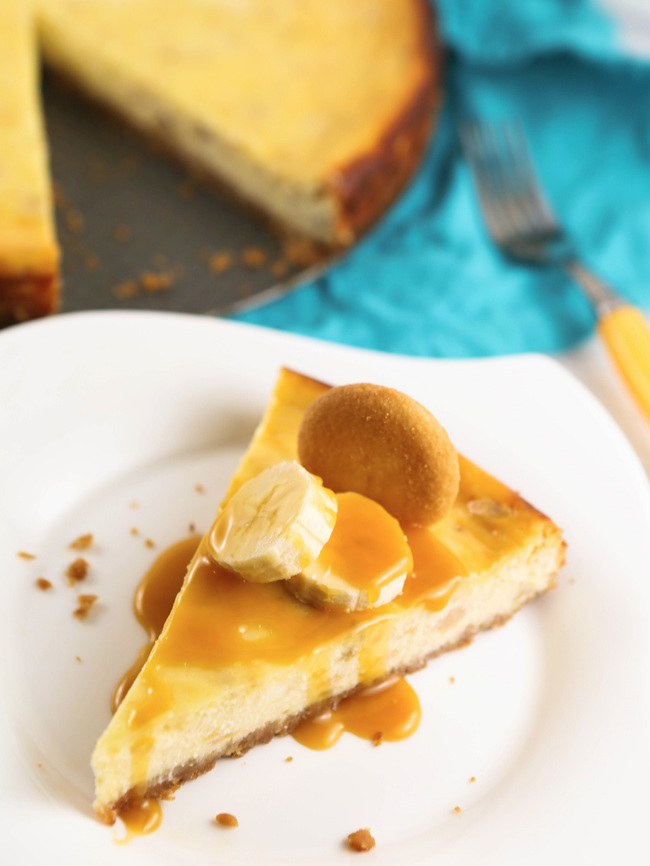 Best Ever Banana Cheesecake
