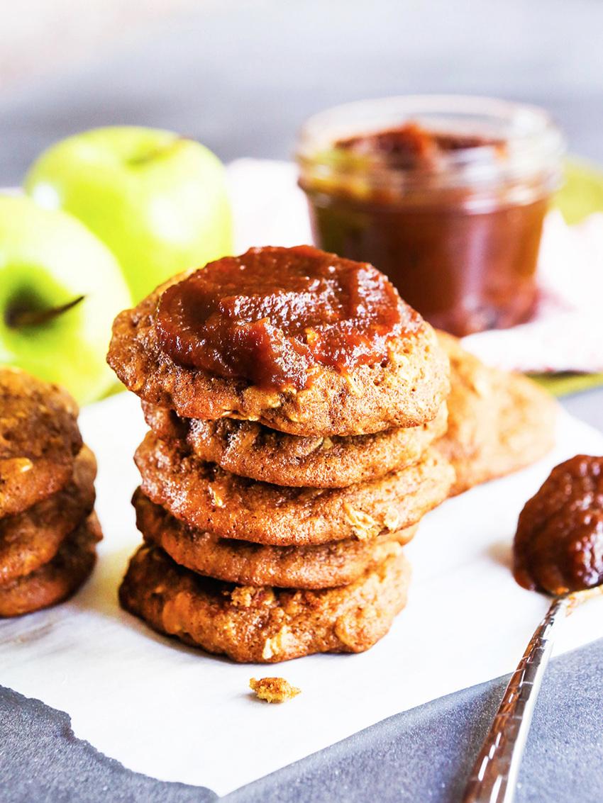 Apple Butter Oatmeal Cookies