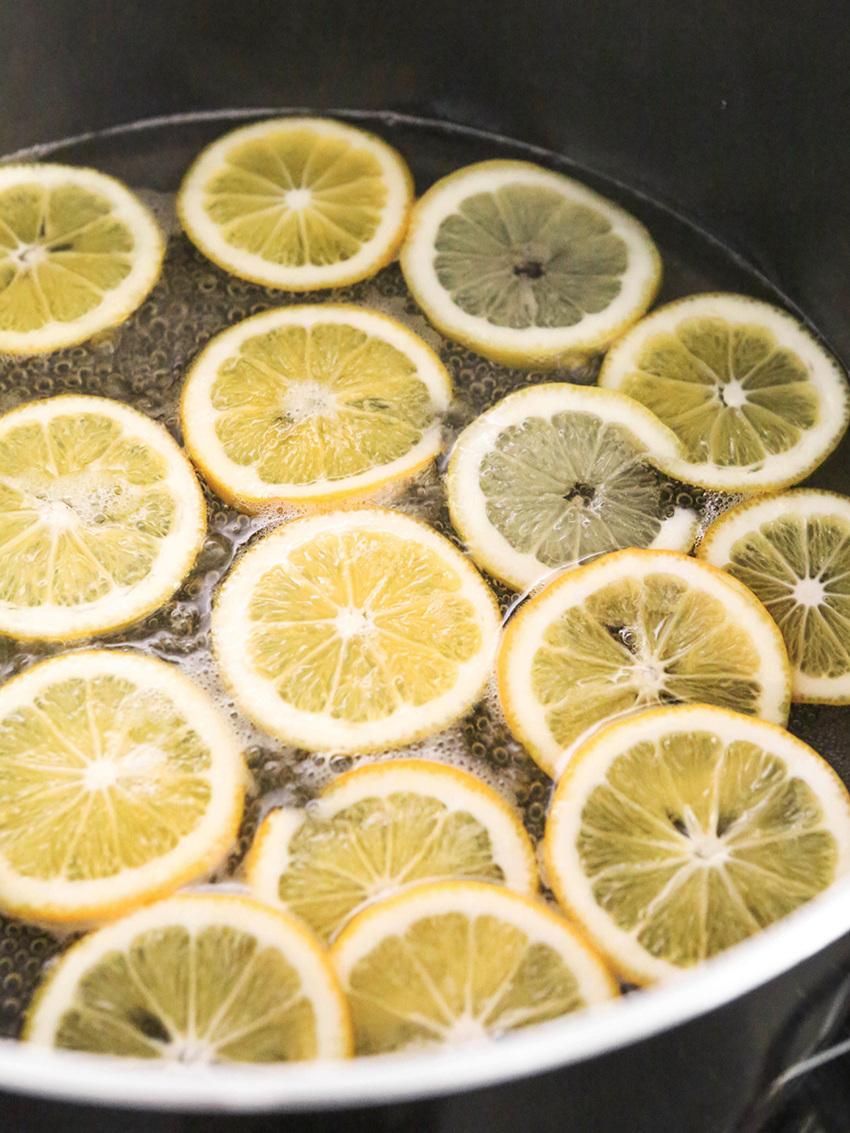 Make Candied Lemon Slices Recipe
