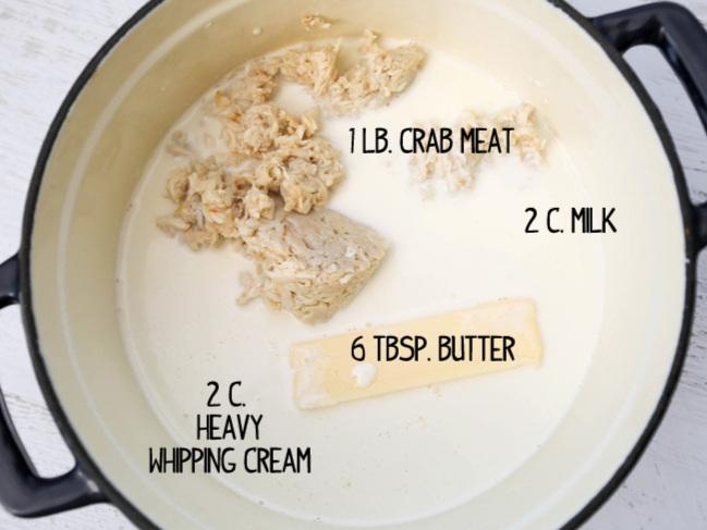 Easy Delicious Crab Soup