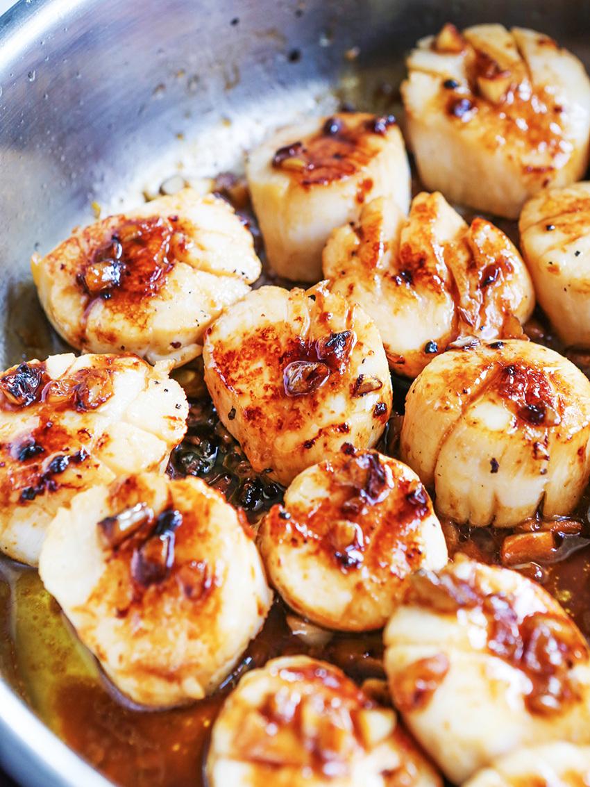 Best Pan Seared Scallops