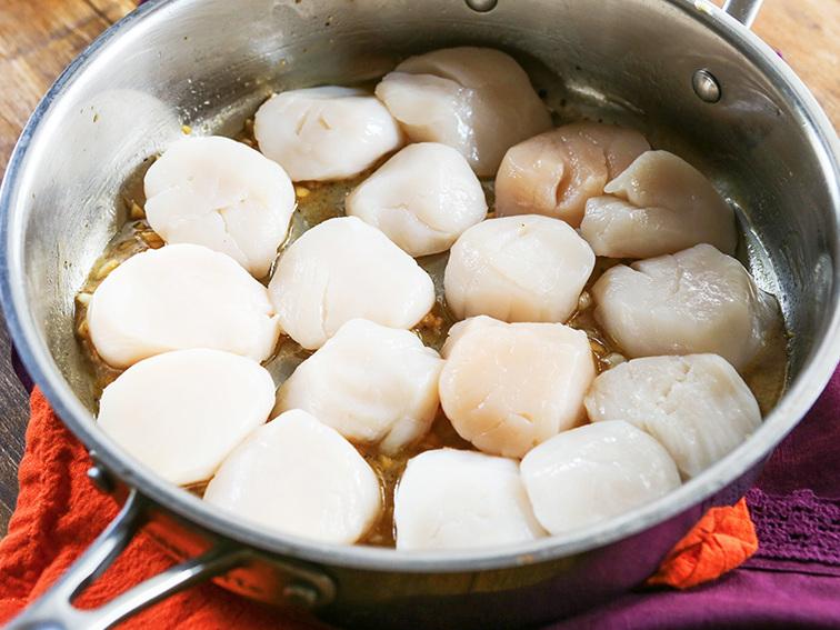 Pan Seared Scallops Recipe