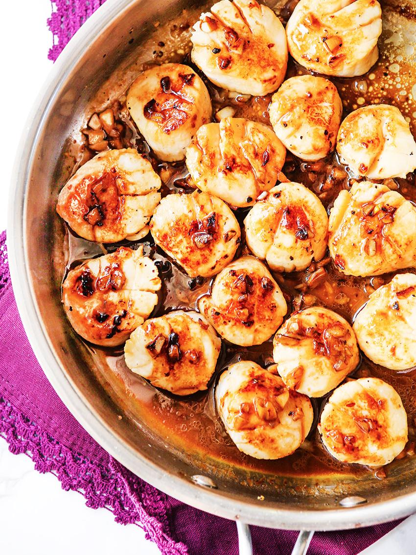 Delicious Pan Seared Scallops Recipe
