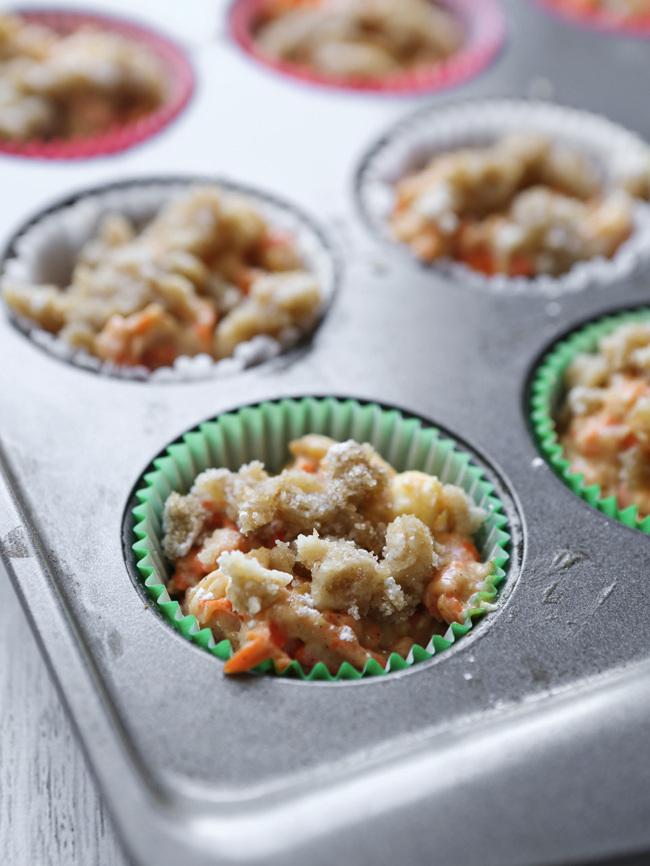 Carrot Cake Apple Muffins Recipe