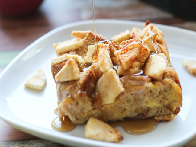 Breakfast Bake with Apples
