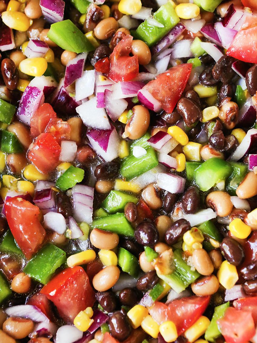 Fresh Spicy Bean Salsa