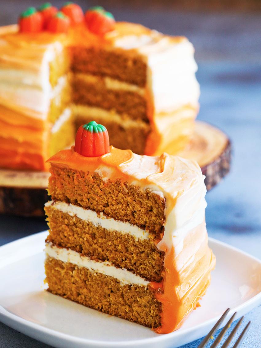 Pumpkin+Spice+Layer+Cake