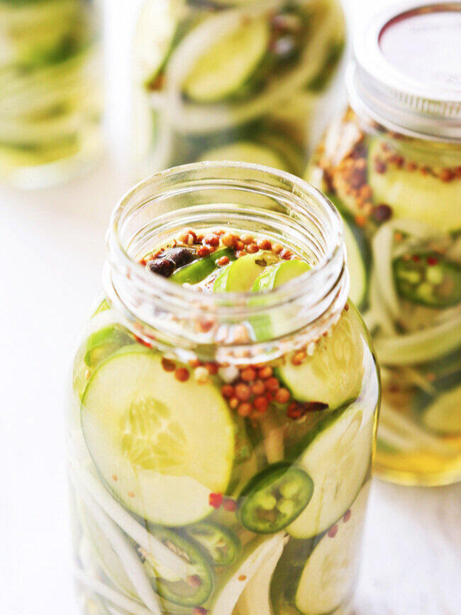 Best Quick Sweet Pickles Recipe Pipandebby Com