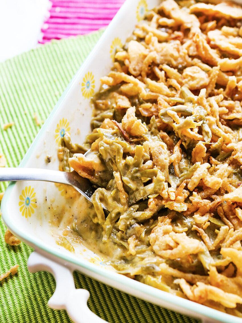 Best Crockpot Green Bean Casserole Recipe