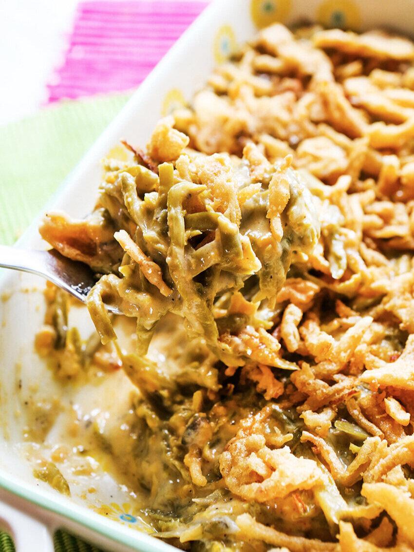 Best Slow Cooker Green Bean Casserole Recipe