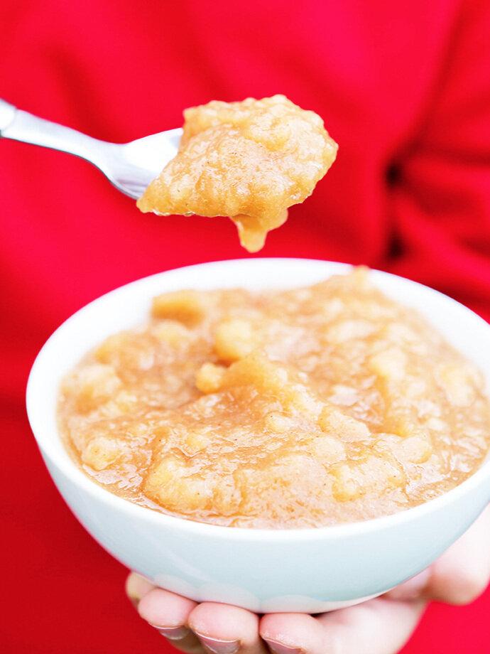 Easy Homemade Crockpot Applesauce