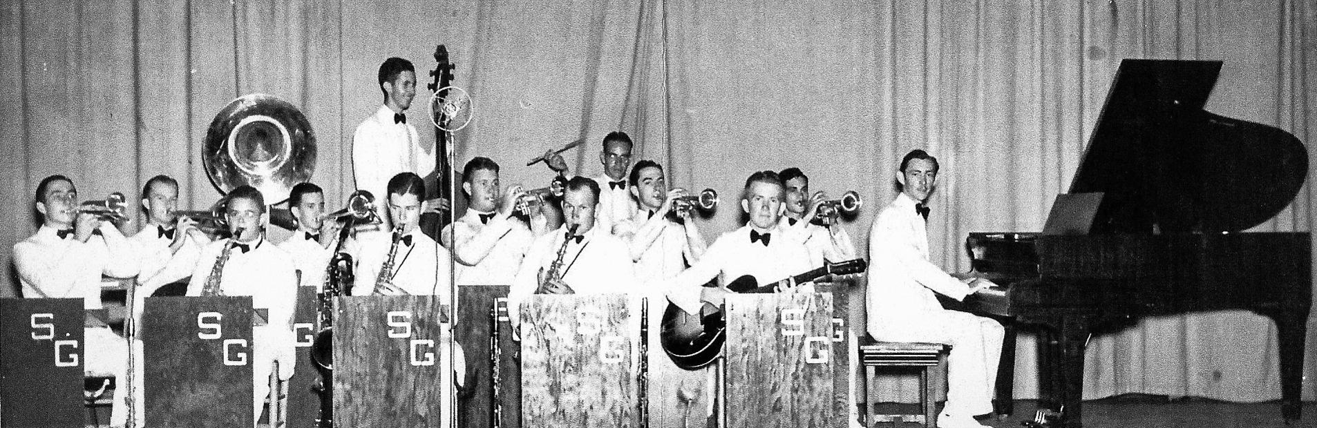 Southern Gentlemen dance band, c. 1940