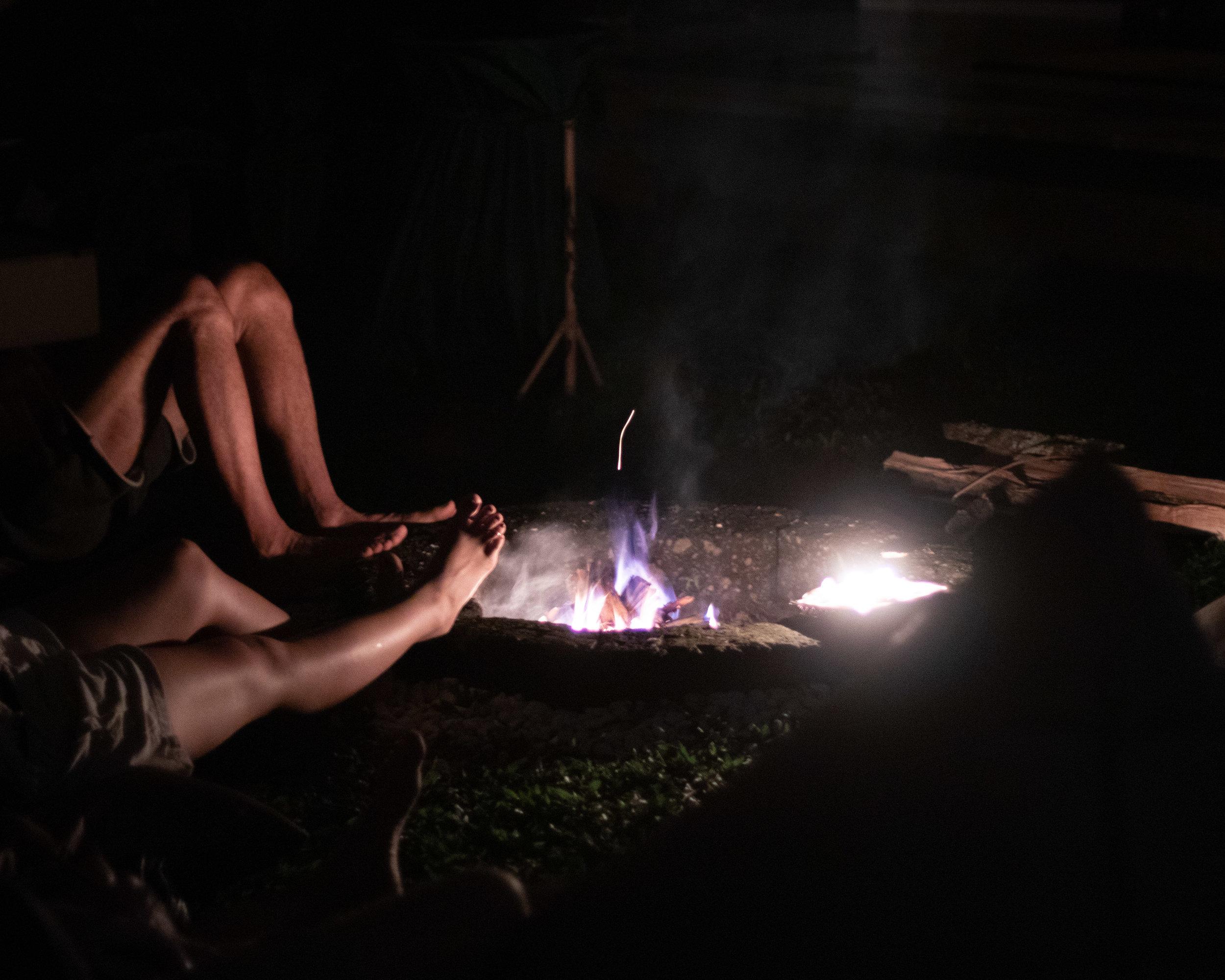 Cacao Fire Ceremony