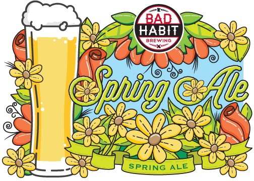 SPRING ALE - Wit | 5.8% ABVThe Spring Ale represents the beginning of warm weather beer season. It is light bodied and refreshing with a dash of orange peel. Weather you are doing some spring cleaning, planting your garden, or getting your boat out on the water, this beer will get you excited for summer.